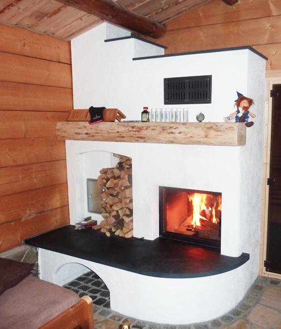 Ofenbau Schlenkrich Bruchsteinkamin